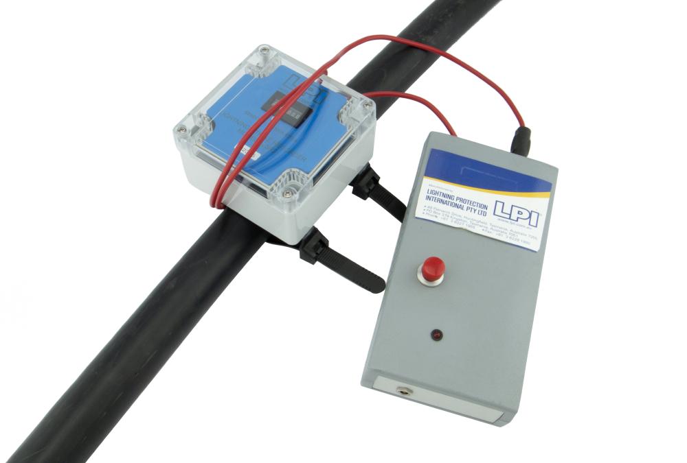 Lightning-Strike-Recorder-Tester