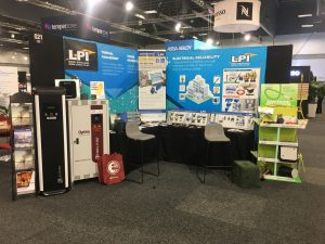 LPI Stand at New Zealand seminar